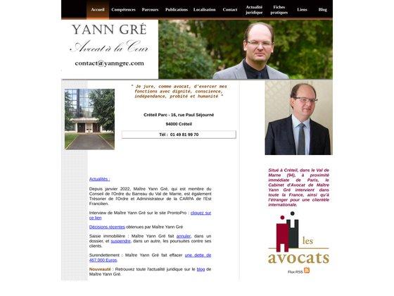 Avocat Yann Gré