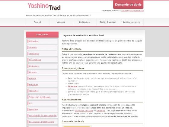 Yoshino trad
