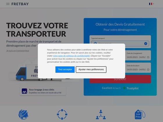 Fretbay : des transporteurs professionnels