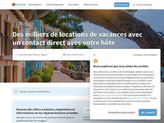 SeLoger Vacances - Locations Vacances