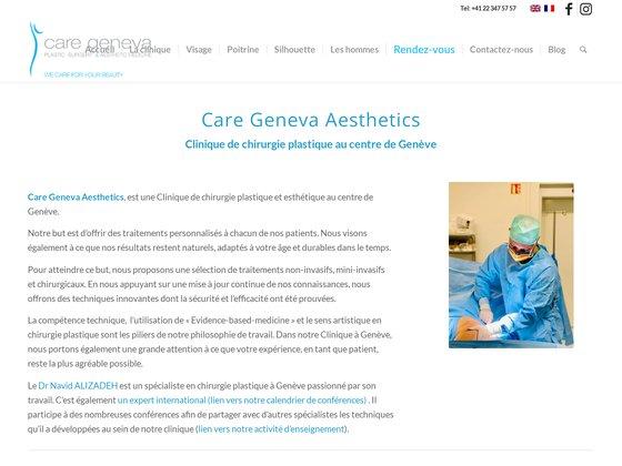 c a r e - chirurgie ambulatoire, reconstructive et esthétique