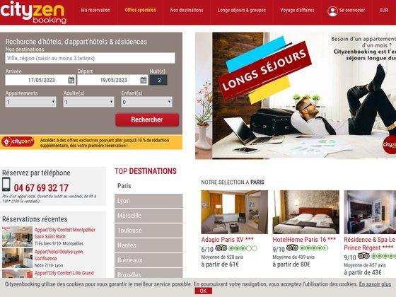Appartement hôtel par cityzenbooking