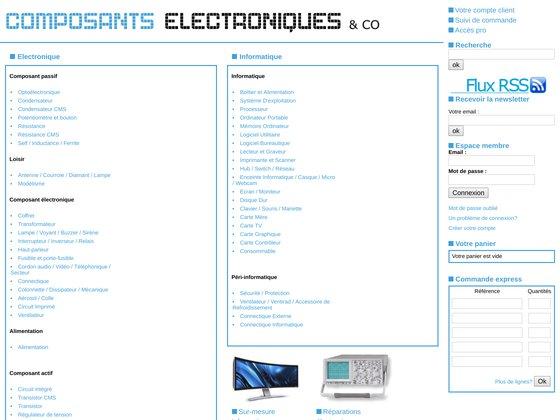 Radiosell - Composants électroniques