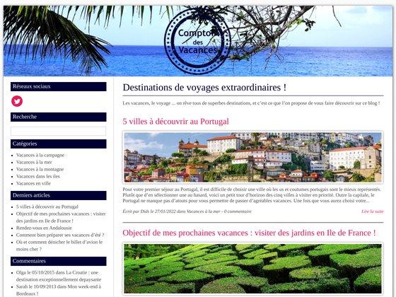 Comptoir Vacances, le comparateur de location de vacances