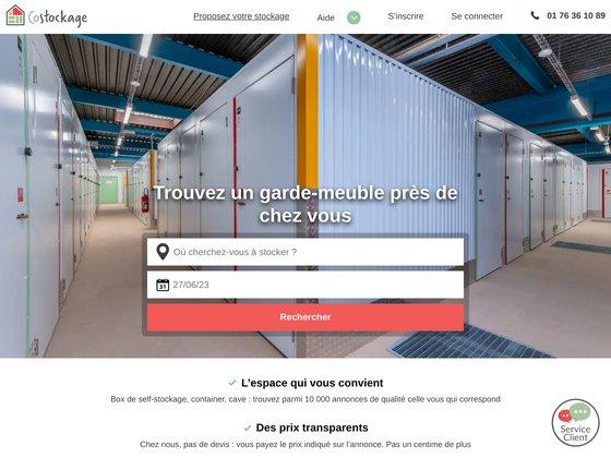 Garde meuble costockage.fr