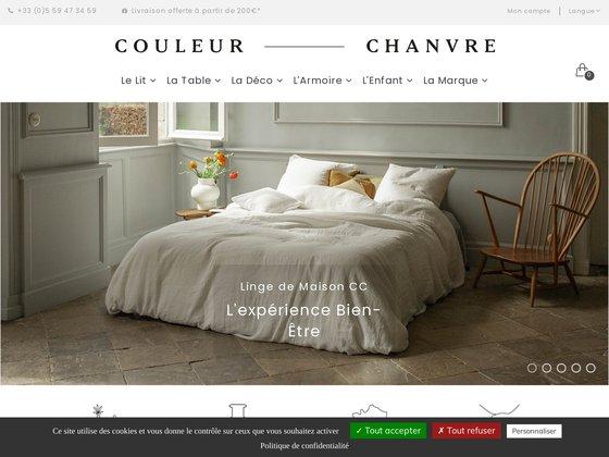 Couleur Chanvre : linge de maison en Chanvre Pur 100% bio et Français