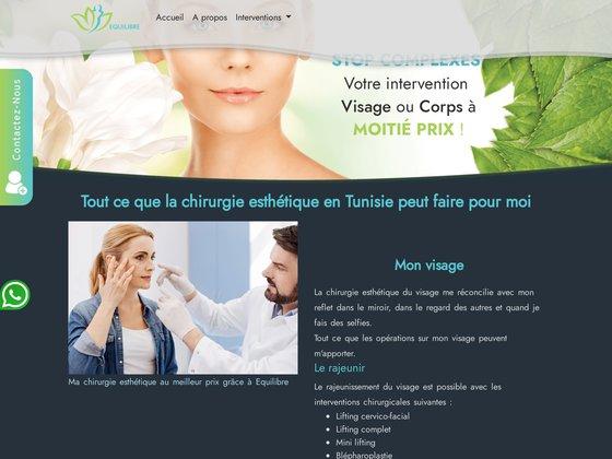 Equilibre chirurgie esthetique tunisie