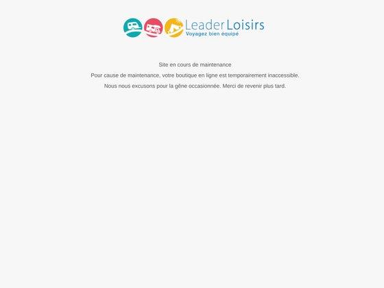 Leader loisirs : tout pour faire du camping