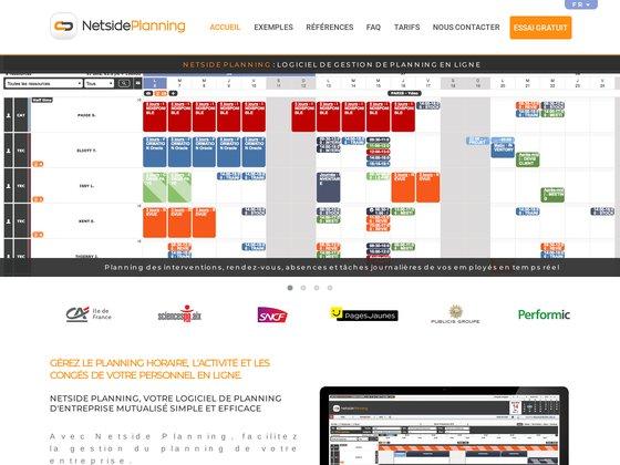 Netside planning - logiciel de gestion de planning