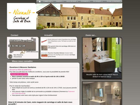 Carrelage, Ameublement, Décoration Nivault à Caen