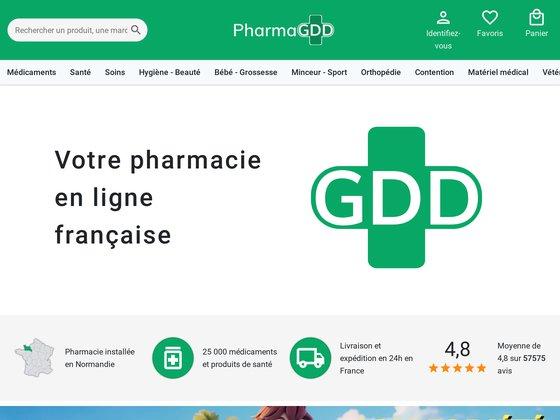Pharmacie en ligne : pharma gdd