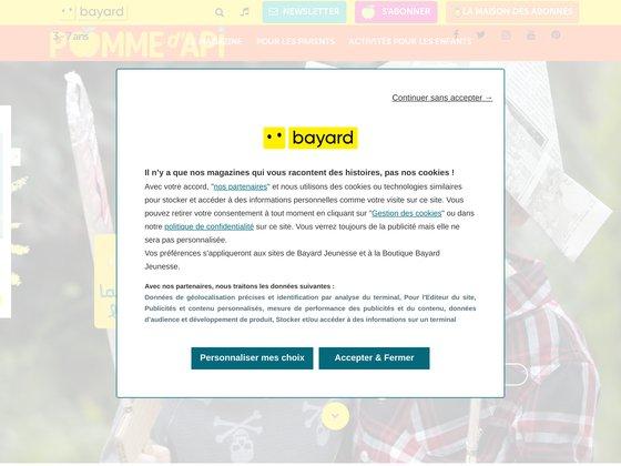 Pomme d'api : magazine pour enfants