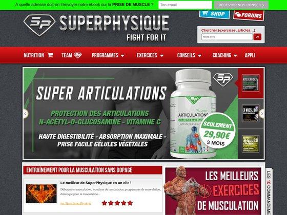 Musculation naturelle : SuperPhysique