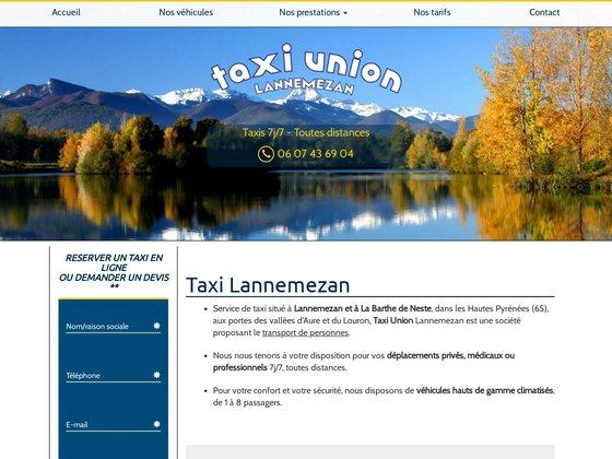 Transport de personnes en taxi à Lannemezan (65)