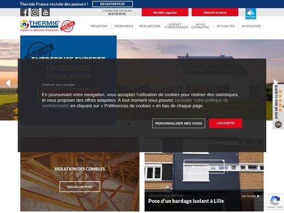 Thermie France - Isolation, rénovation énergétique