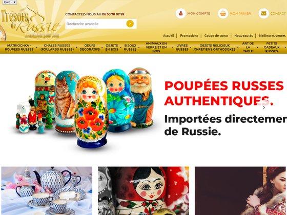 Offrez-vous des créations artisanales russes