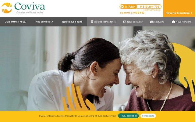 COVIVA Services à Domicile, Aide aux personnes âgées