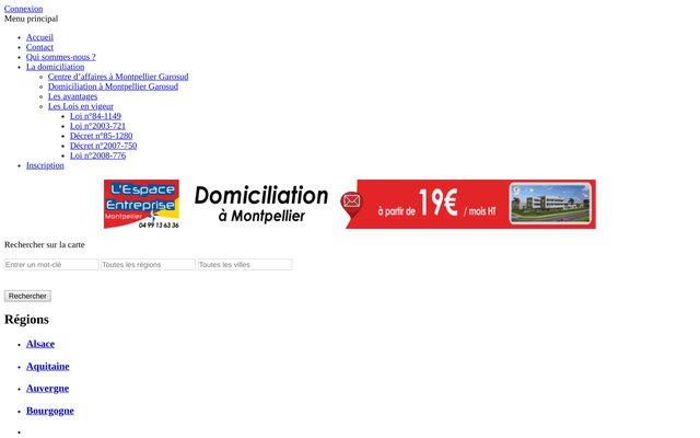 Annuaire Domiciliation France