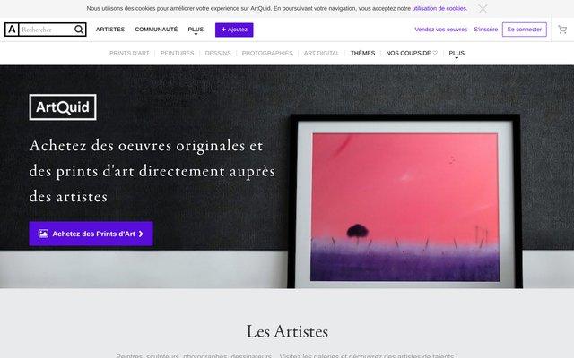 ArtQuid, la place de marché du Monde de l'Art