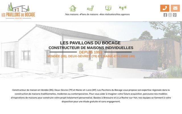 Constructeur de maisons individuelles et BBC en Deux-Sèvres (79) et Vendée (85)
