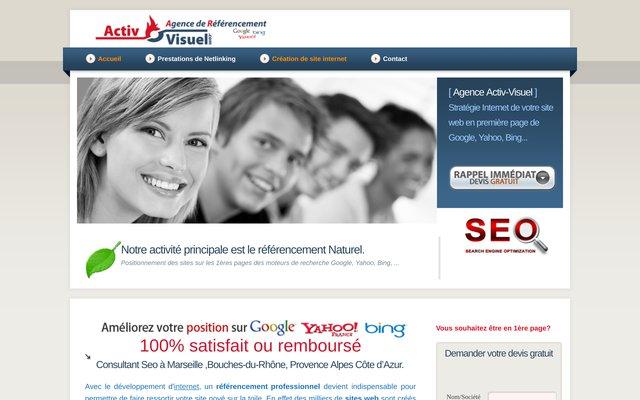 activ-visuel.com: l'agence de référencement la plus sure