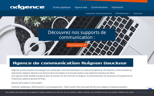Adgence Communication - Agence graphique