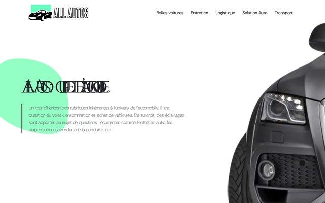 Vente de véhicules neufs et d'occasion à Châteaulin (Finistère) : All Autos