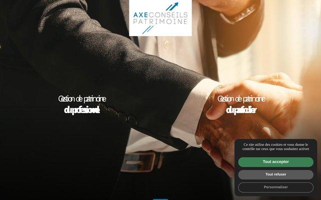 Axe Conseils Patrimoine - Votre spécialiste en gestion de patrimoine au Havre