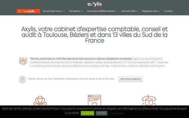 Cabinet d'Expertise Comptable Axylis situé à Béziers et Agde