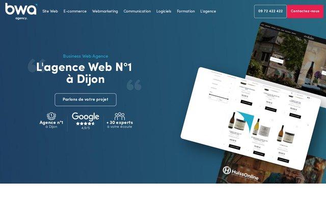 Création de site internet BWA à Dijon