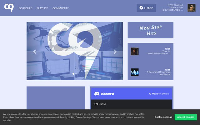 C9 Radio - Webradio Française - Au Rythme des Hits !