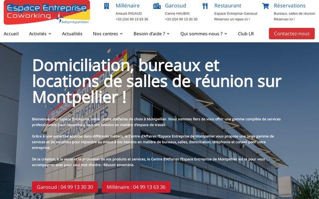 Espace Entreprise à Montpellier : Domiciliation Express