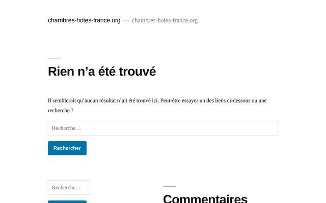 Annuaire de chambres d'hotes et gites en France