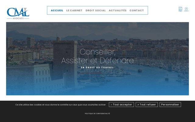Cabinet d'avocats spécialisés en droit du travail à Marseille (Bouches du Rhone)