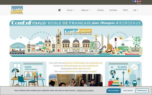 Cours de français et séjours linguistiques à Bordeaux