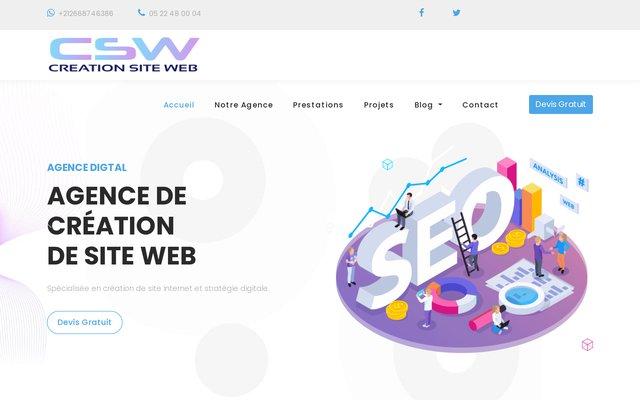 Honline, création de site web au Maroc