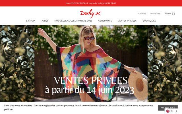 Boutique en ligne de vetements René Derhy