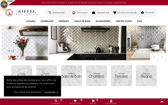 Eiffel Art Construction - Carrelage et Parquet à prix usine!