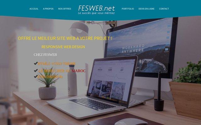 Création de site Internet au Maroc: Fesweb.net