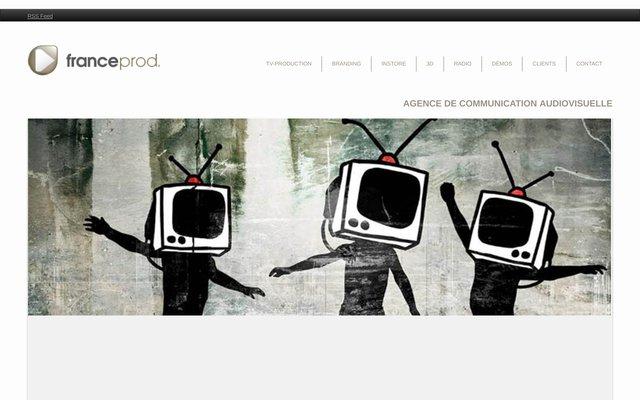 Studio de production audiovisuelle France Prod
