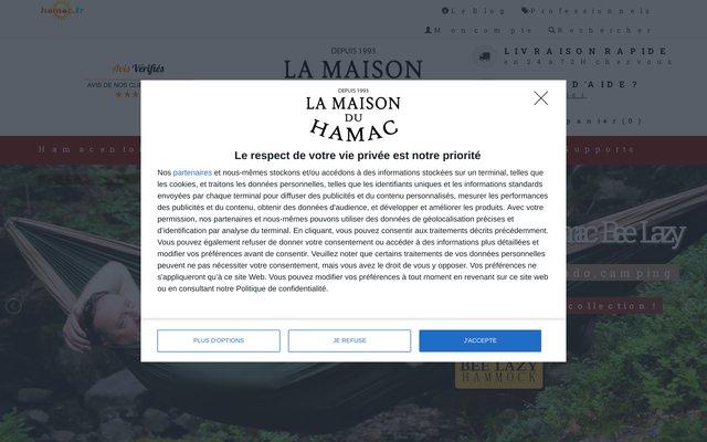 Hamac.fr : Le Magasin du Hamac Depuis 1999