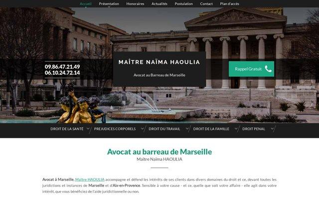 Maître Naïma Haoulia, avocat en licenciement à Marseille