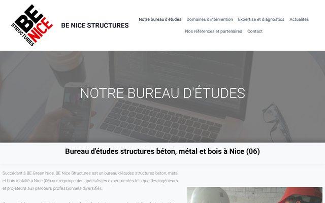 Sociétés d'ingénierie et gros oeuvre bureau d'études structures à Nice 06, BE NICE STRUCTURES