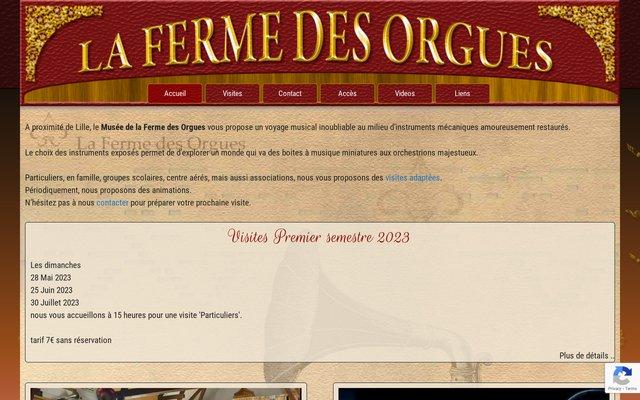 Le Musée de La Ferme des Orgues à Steenwerck (59)