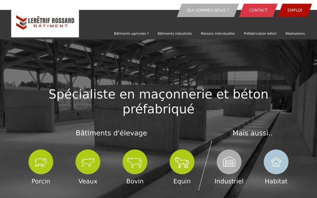 Construction de bâtiments d'élevage - Ille et Vilaine et Ouest de la France