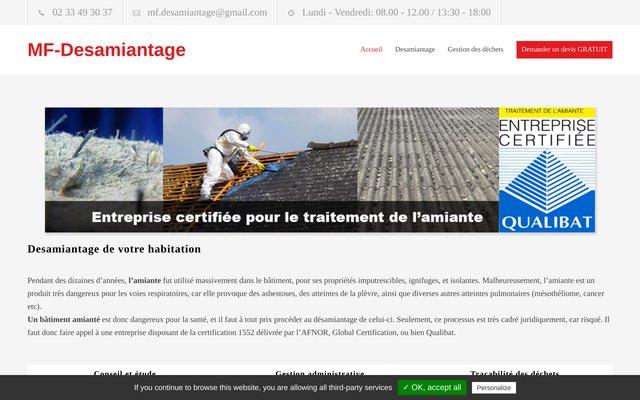 MF Désamiantage en France