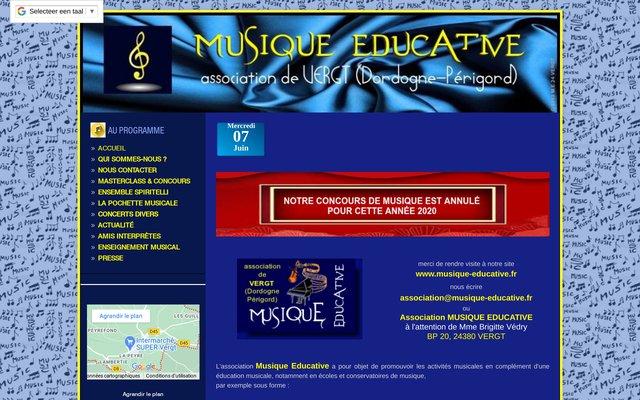 Association Musique Educative en Dordogne-Périgord