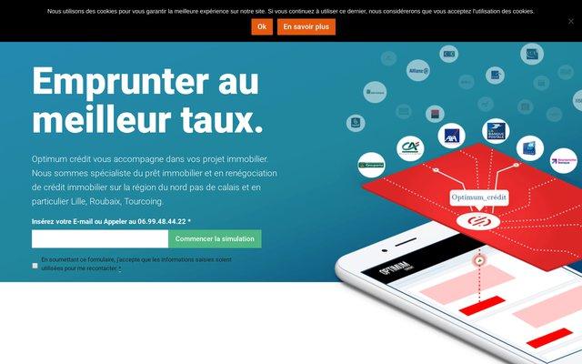 Optimum-credit, courtier immobilier sur Lille