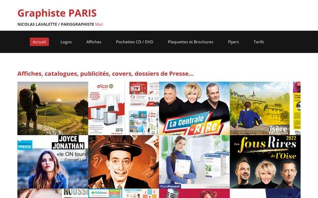 Graphiste à Paris