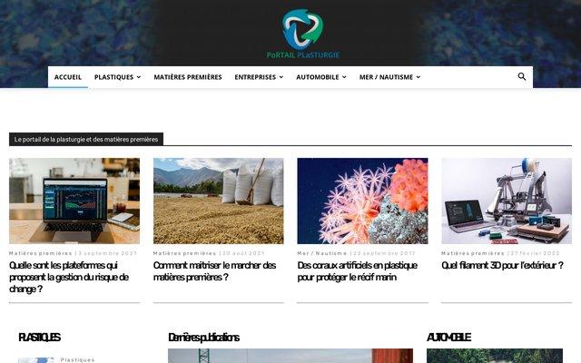 Le portail français de la plasturgie